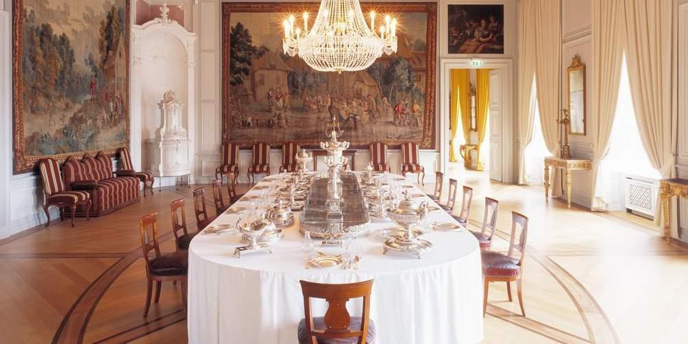 Innenaufnahme von Barockschloss Mannheim; Foto: Staatliche Schlösser und Gärten Baden-Württemberg, Dirk Altenkirch