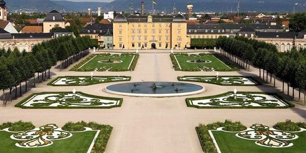 Schloss und Schlossgarten Schwetzingen; Foto: Staatliche Schlösser und Gärten Baden-Württemberg, Achim Mende