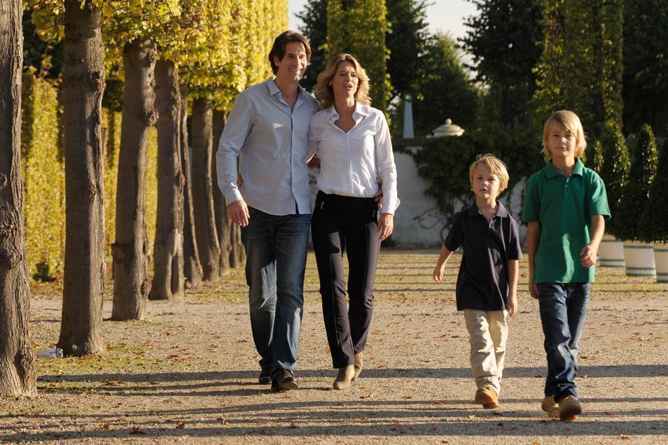 Familienspaziergang im Schwetzinger Schlossgarten