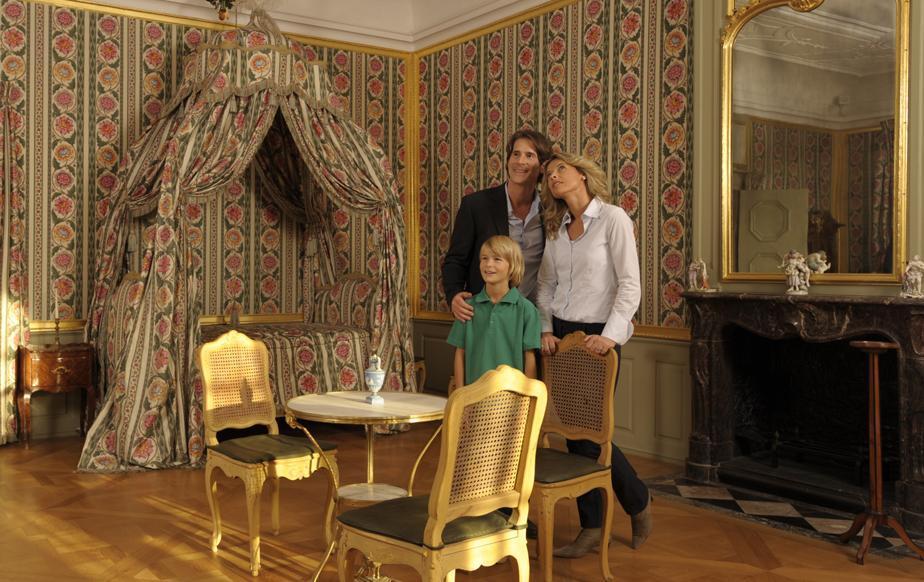 Schlafzimmer des Kurfürsten Carl Theodors im Schloss Schwetzingen