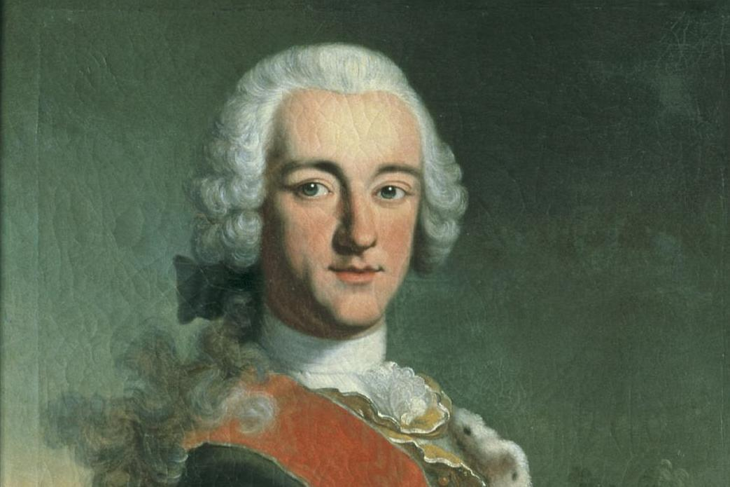 Bildnis des Kurfürsten Carl Theodor von der Pfalz; Foto: Staatliche Schlösser und Gärten Baden-Württemberg, Arnim Weischer