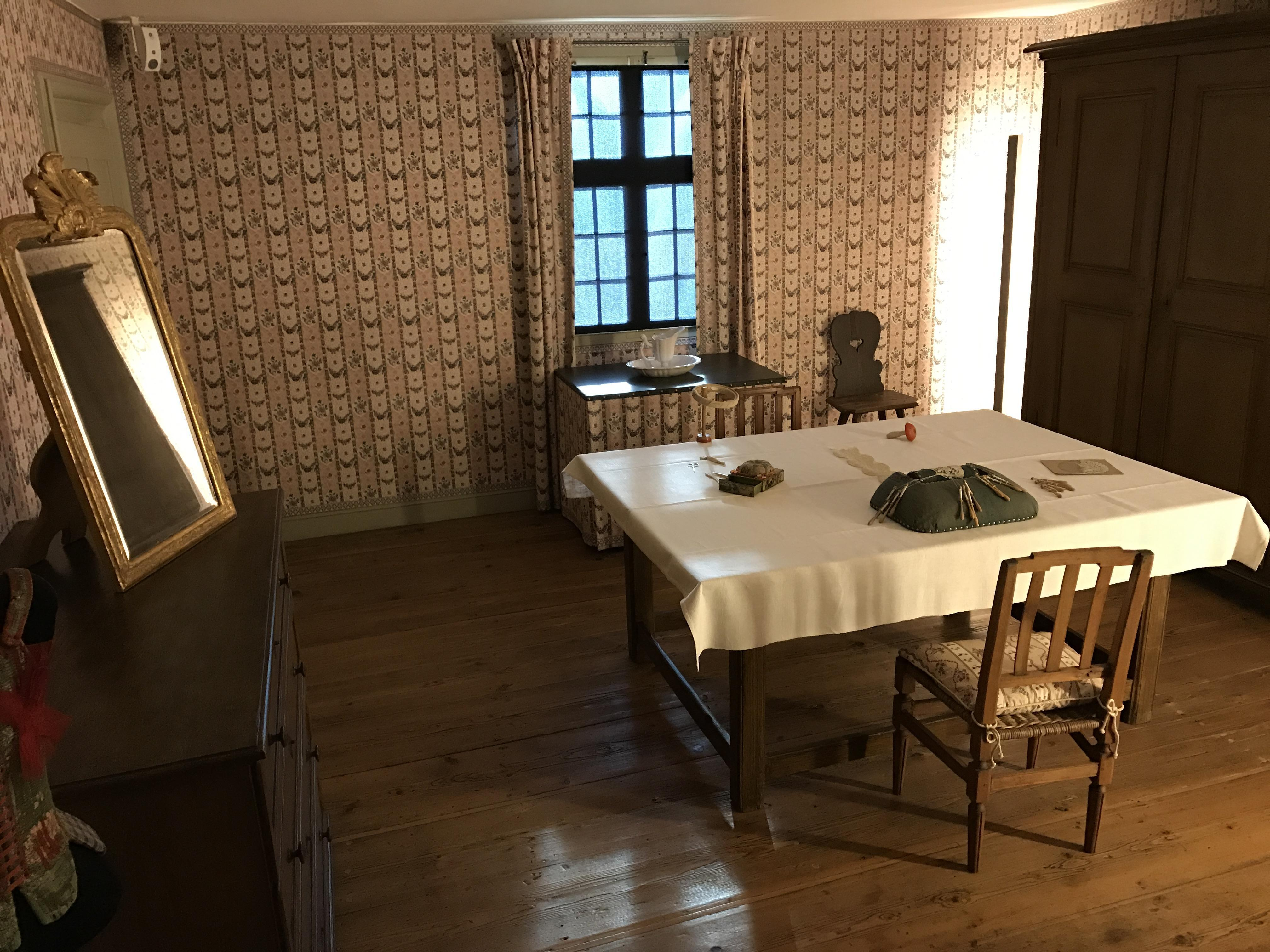 Garderobe der Kurfürstin im Schloss Schwetzingen