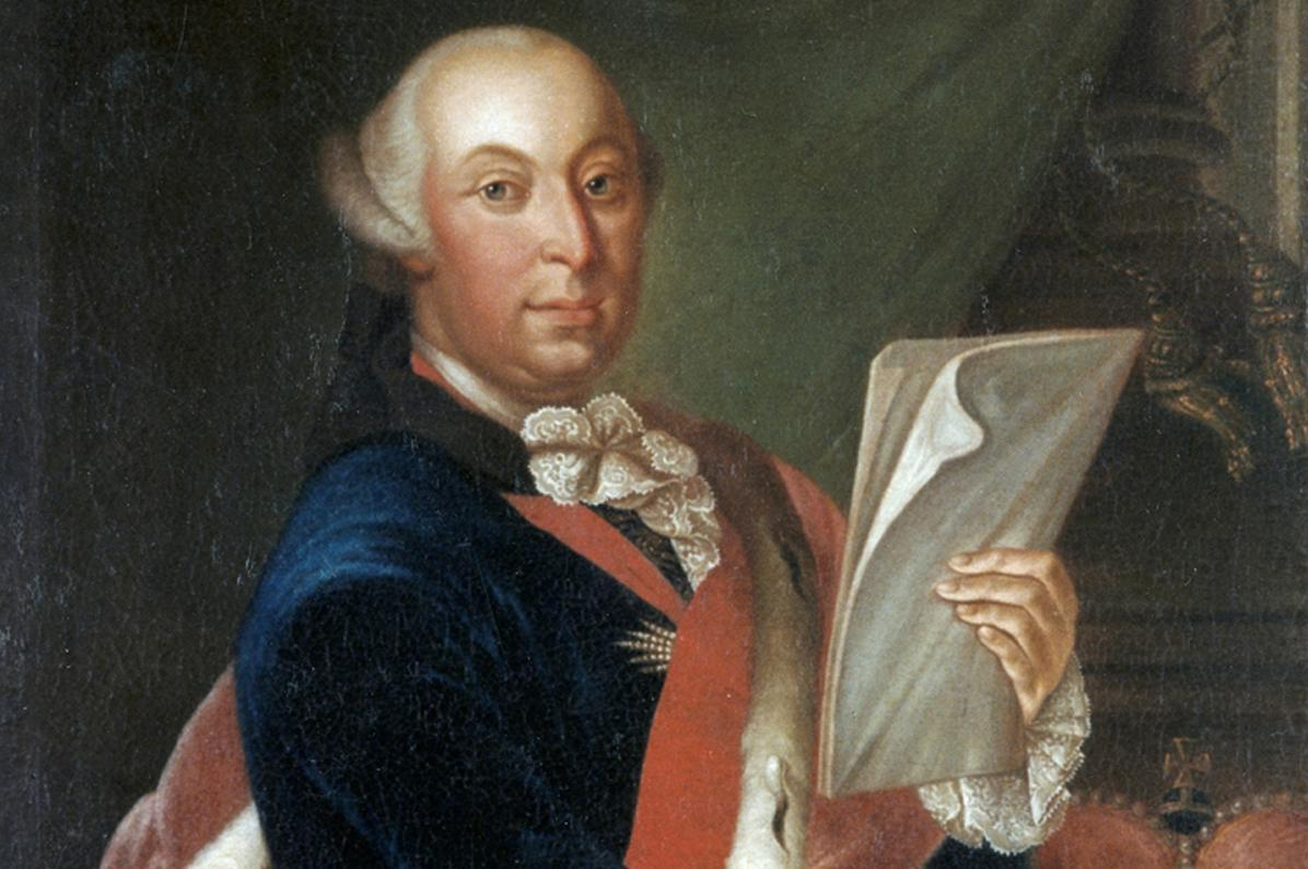 Porträt des Herzogs Carl Eugen von Württemberg; Landesmedienzentrum Baden-Württemberg, Dieter Jäger