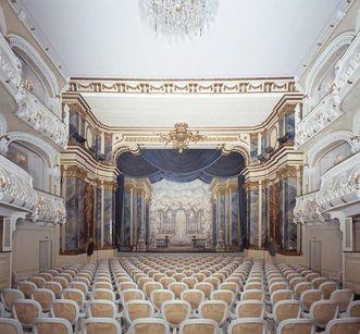 Schlosstheater von Schloss Schwetzingen; Foto: Staatliche Schlösser und Gärten Baden-Württemberg, Arnim Weischer
