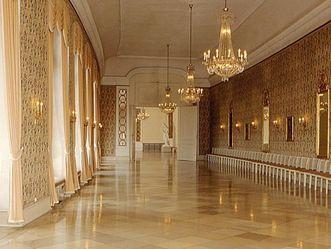 Konzertsaal von Schloss Schwetzingen