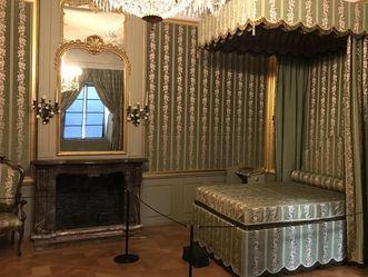 Das Schlafzimmer der Kurfürstin im Schloss Schwetzingen