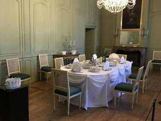 Das Grüne Speisezimmer im Schloss Schwetzingen