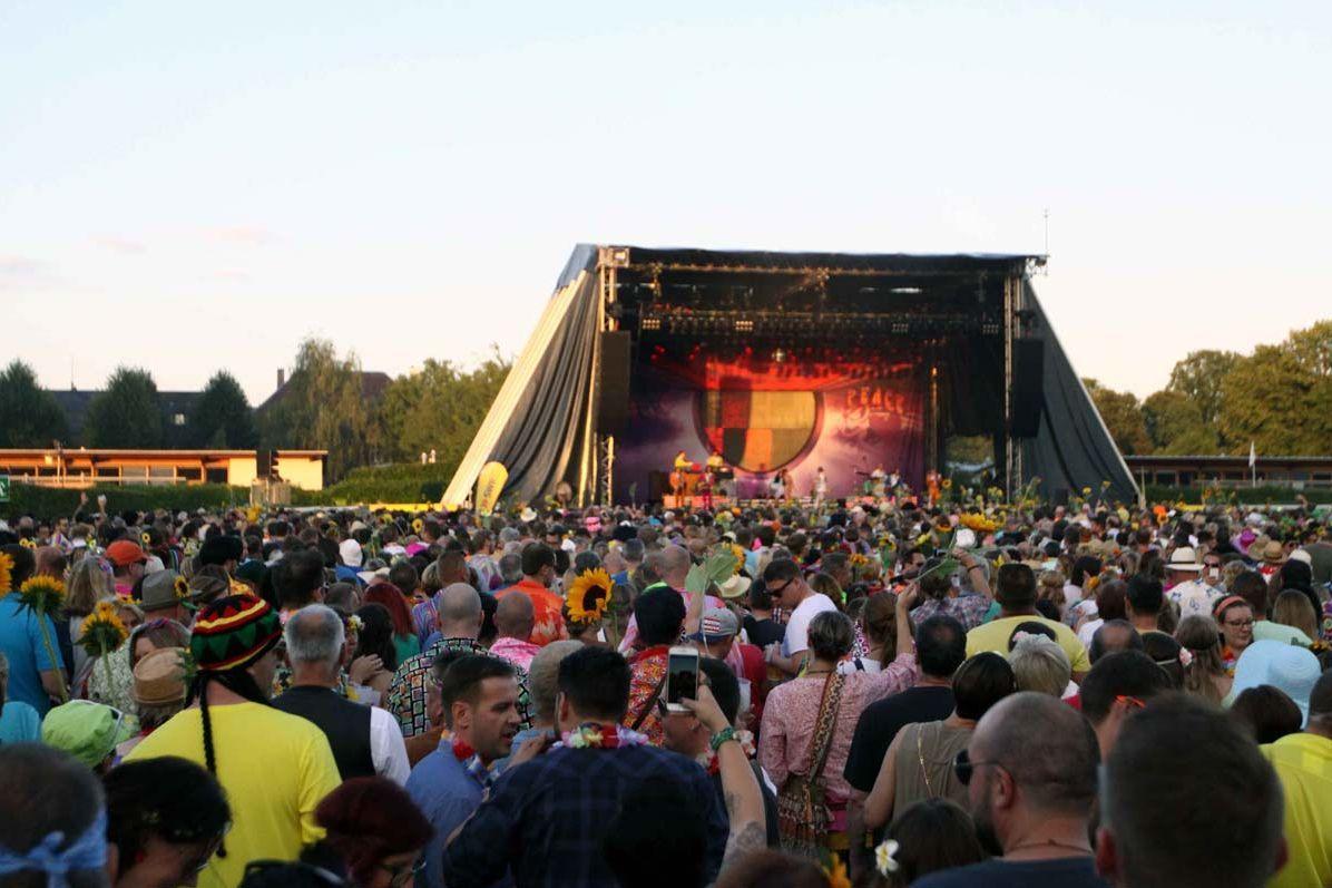 Schloss und Schlossgarten Schwetzingen, Musik im Park 2016, Dieter Thomas Kuhn