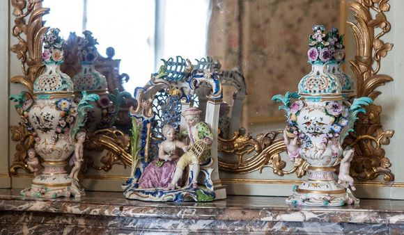 Schwetzingen Palace and Gardens, Porcelain