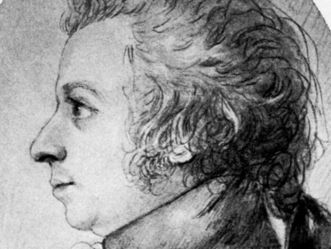 Bildnis Wolfgang Amadeus Mozart