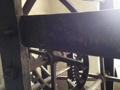 Uhrwerk der Schwetzinger Schlossuhren