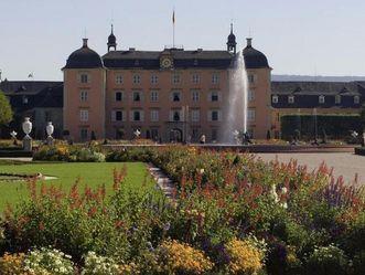 Schloss Schwetzingen, Gartenseite