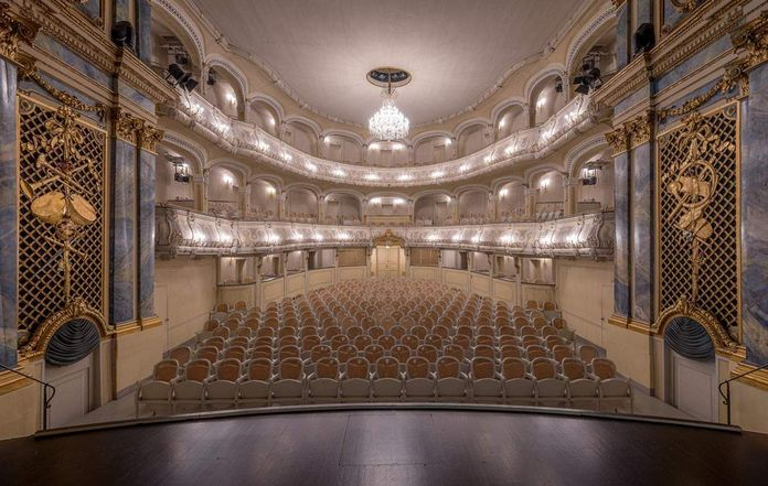 Schwetzingen Palace and Gardens, A look inside the Rococo theater
