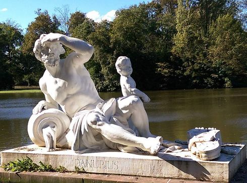 Schwetzingen Palace and Gardens, Statue of Danubius