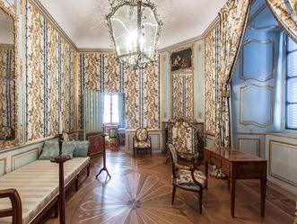 Das Kabinett der Kurfürstin im Schloss Schwetzingen