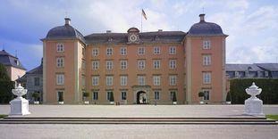 Mittelbau von Schloss Schwetzingen