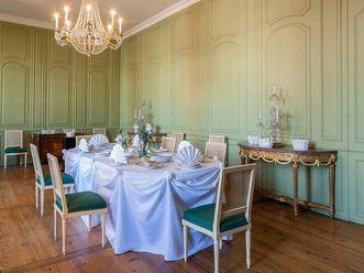 Schloss Schwetzingen, Gläserkühler im Grünen Speisezimmer