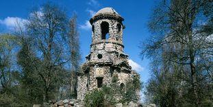 Der Merkurtempel im Schwetzinger Schlossgarten