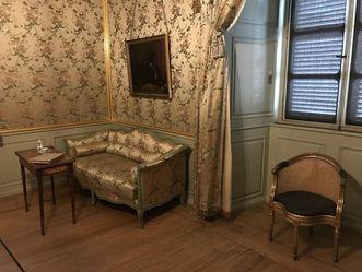 Kabinett im Appartement des Kurfürsten Carl Theodor im Schloss Schwetzingen