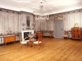 Audienzzimmer im Appartement der Reichsgräfin Luise von Hochberg im Schloss Schwetzingen