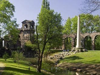 Römisches Wasserkastell im Schlossgarten von Schloss Schwetzingen