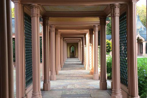 Moschee im Schlossgarten Schwetzingen; Foto: Staatliche Schlösser und Gärten Baden-Württemberg, Ursula Wetzel