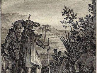 Illustration zu Candide 1787  (Jean-Michel  Moreau)