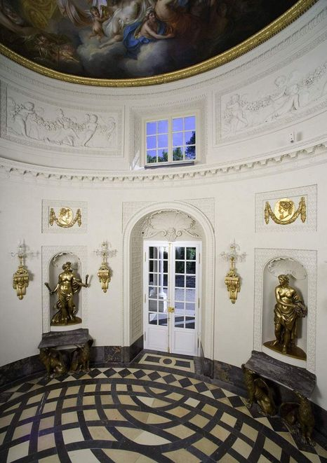 Schwetzingen Palace and Gardens, Interior view of the mosque