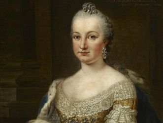 Bildnis Kurfürstin Elisabeth Augusta