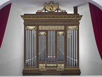 Orgel in der Schlosskapelle von Schloss Schwetzingen