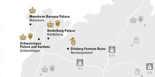"""journey map """"Around Mannheim"""""""
