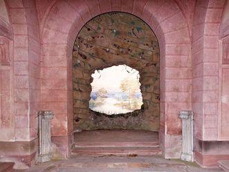 Schlossgarten Schwetzingen, Ende der Welt