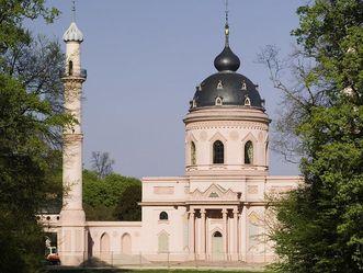 Schloss und Schlossgarten Schwetzingen, Gartenmoschee