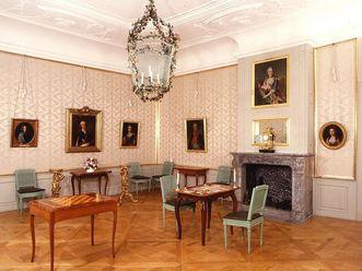 Das Konferenzzimmer des Kurfürsten im Schloss Schwetzingen