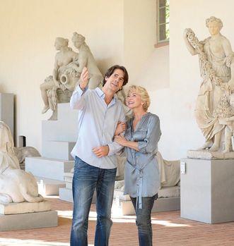 Visitors at Schwetzingen Palace