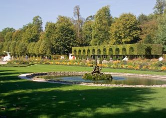 Schlossgarten Schwetzingen, Bassin im Gartenparterre