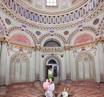Schwetzingen Palace, inside the Mosque