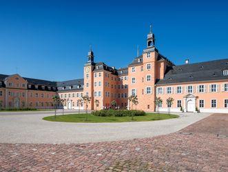 Ehrenhof des Schwetzinger Schlosses