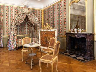 Schlafzimmer von Kurfürst Carl Theodor im Schloss Schwetzingen