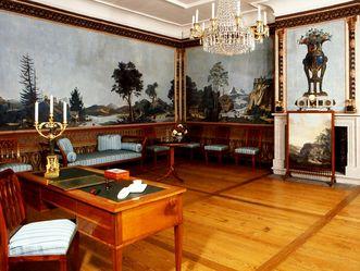 Schloss und Schlossgarten Schwetzingen, Compagniezimmer im Schloss